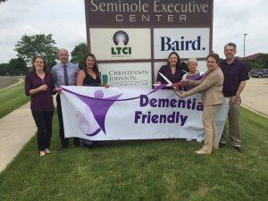 Dementia Friendly Ribbon Cutting 2017